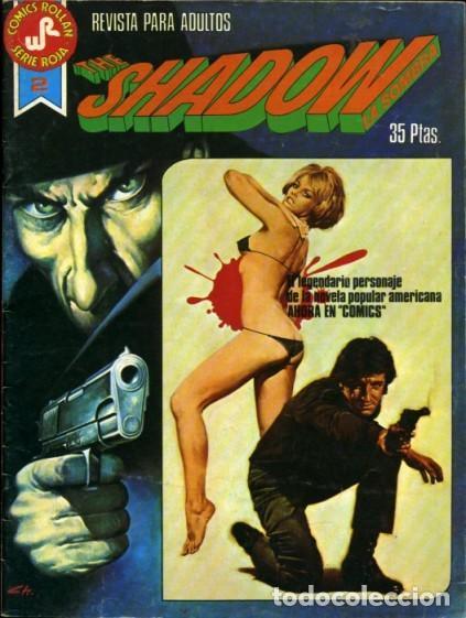 THE SHADOW-COMICS ROLLAN-SERIE ROJA- Nº 2 -GRAN BERNIE WRIGTHSON-1977-BUENO-DIFÍCIL-LEAN-3825 (Tebeos y Comics - Rollán - Series Rollán (Azul, Roja, etc))