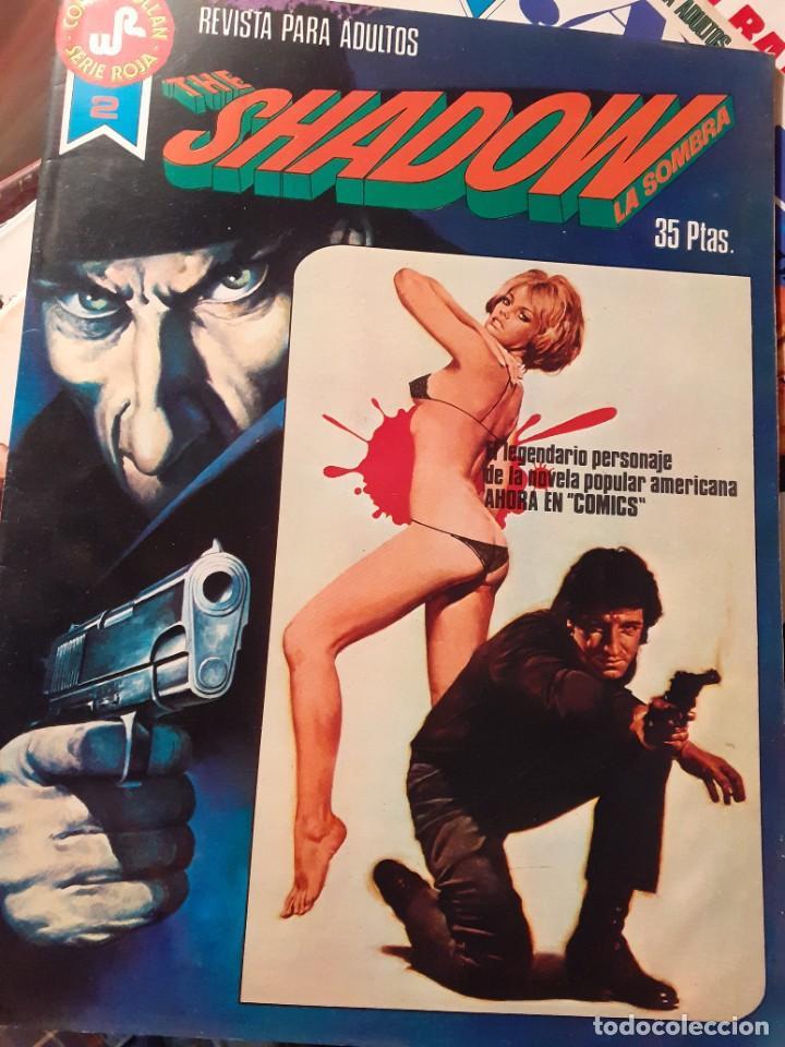 Tebeos: THE SHADOW-COMICS ROLLAN-SERIE ROJA- Nº 2 -GRAN BERNIE WRIGTHSON-1977-BUENO-DIFÍCIL-LEAN-3825 - Foto 2 - 219758176
