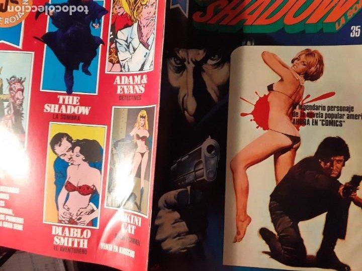 Tebeos: THE SHADOW-COMICS ROLLAN-SERIE ROJA- Nº 2 -GRAN BERNIE WRIGTHSON-1977-BUENO-DIFÍCIL-LEAN-3825 - Foto 3 - 219758176
