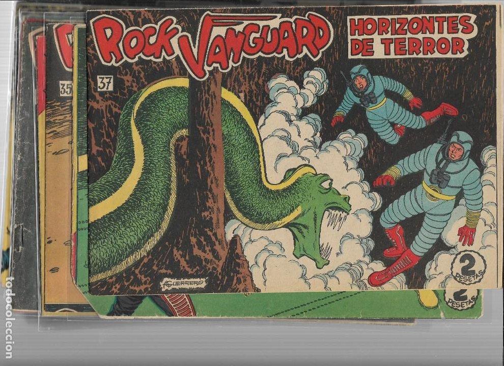 ROCK VANGUARD AÑO 1961 COLECCIÓN COMPLETA SON 38. TEBEOS ORIGINALES ES MUY DIFICIL DE COMPLETAR (Tebeos y Comics - Rollán - Rock Vanguard)