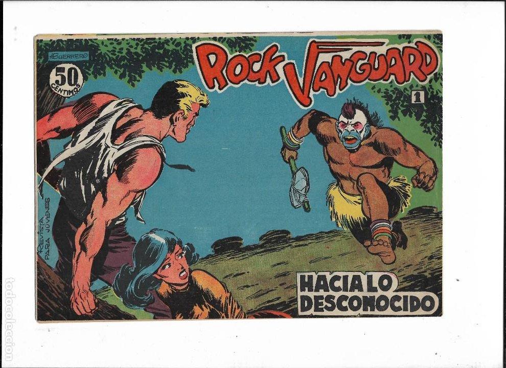 Tebeos: Rock Vanguard Año 1961 Colección Completa son 38. Tebeos Originales es muy dificil de completar - Foto 2 - 220250811