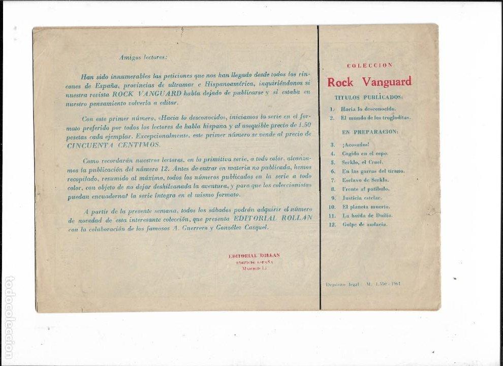 Tebeos: Rock Vanguard Año 1961 Colección Completa son 38. Tebeos Originales es muy dificil de completar - Foto 3 - 220250811