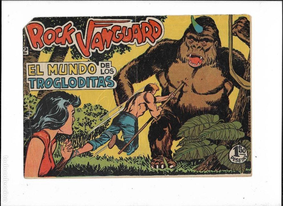 Tebeos: Rock Vanguard Año 1961 Colección Completa son 38. Tebeos Originales es muy dificil de completar - Foto 4 - 220250811