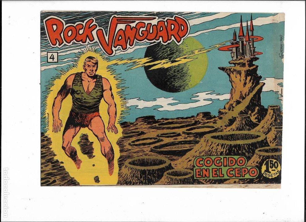 Tebeos: Rock Vanguard Año 1961 Colección Completa son 38. Tebeos Originales es muy dificil de completar - Foto 6 - 220250811