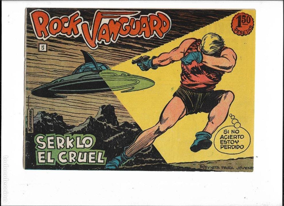 Tebeos: Rock Vanguard Año 1961 Colección Completa son 38. Tebeos Originales es muy dificil de completar - Foto 7 - 220250811