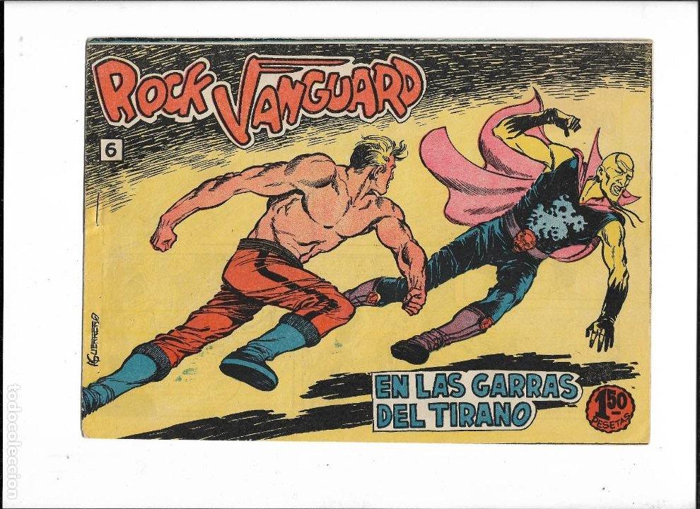 Tebeos: Rock Vanguard Año 1961 Colección Completa son 38. Tebeos Originales es muy dificil de completar - Foto 8 - 220250811