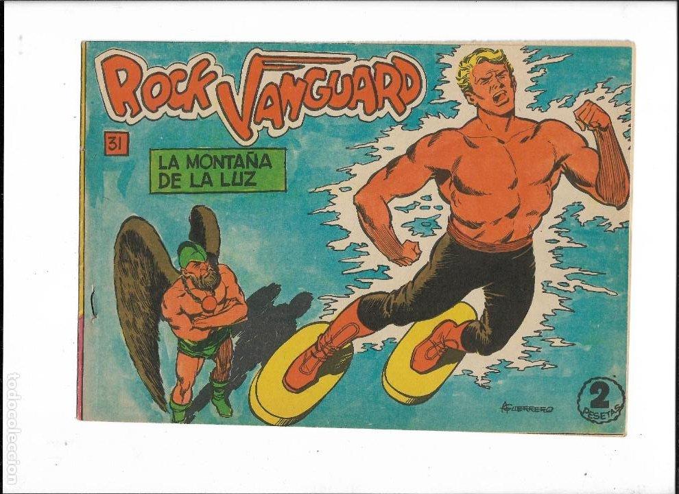 Tebeos: Rock Vanguard Año 1961 Colección Completa son 38. Tebeos Originales es muy dificil de completar - Foto 9 - 220250811