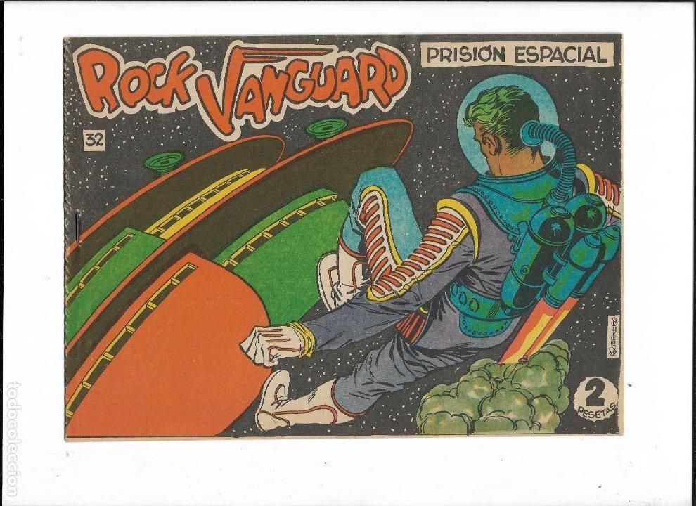 Tebeos: Rock Vanguard Año 1961 Colección Completa son 38. Tebeos Originales es muy dificil de completar - Foto 10 - 220250811