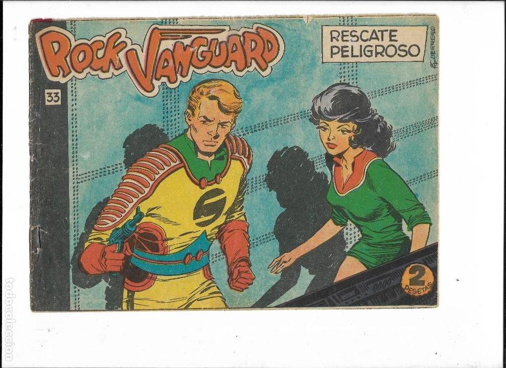 Tebeos: Rock Vanguard Año 1961 Colección Completa son 38. Tebeos Originales es muy dificil de completar - Foto 11 - 220250811