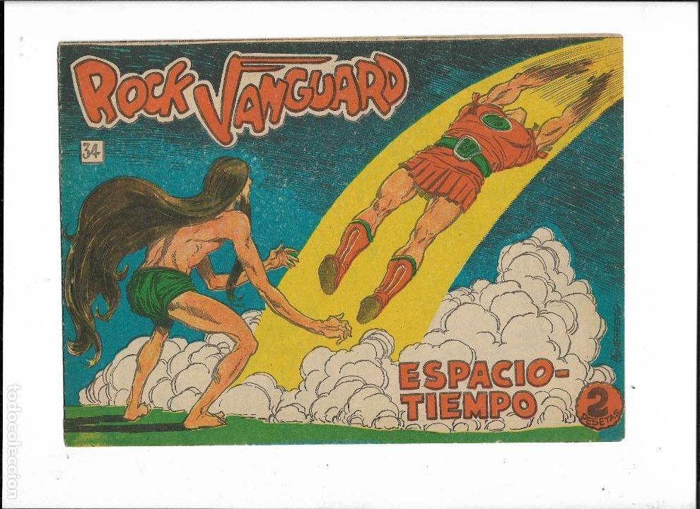 Tebeos: Rock Vanguard Año 1961 Colección Completa son 38. Tebeos Originales es muy dificil de completar - Foto 12 - 220250811