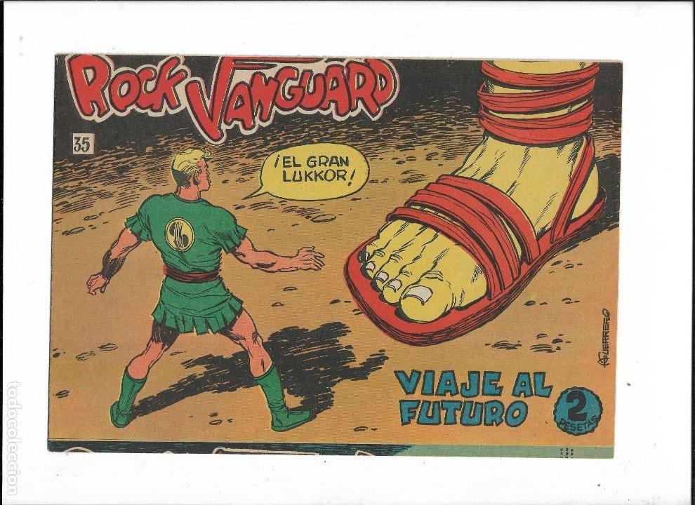 Tebeos: Rock Vanguard Año 1961 Colección Completa son 38. Tebeos Originales es muy dificil de completar - Foto 13 - 220250811