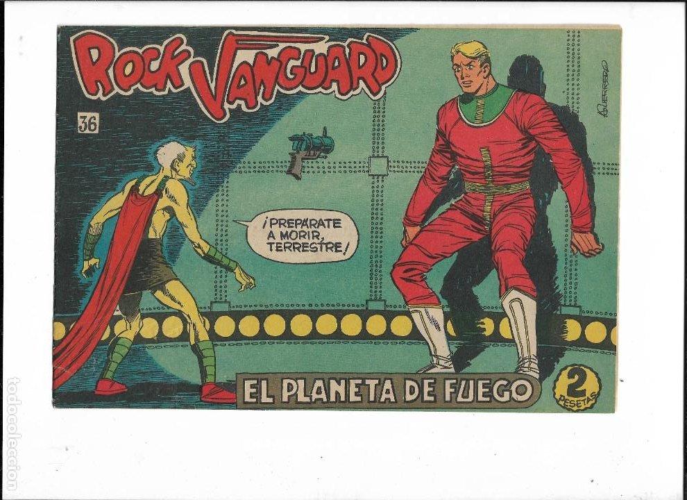 Tebeos: Rock Vanguard Año 1961 Colección Completa son 38. Tebeos Originales es muy dificil de completar - Foto 14 - 220250811
