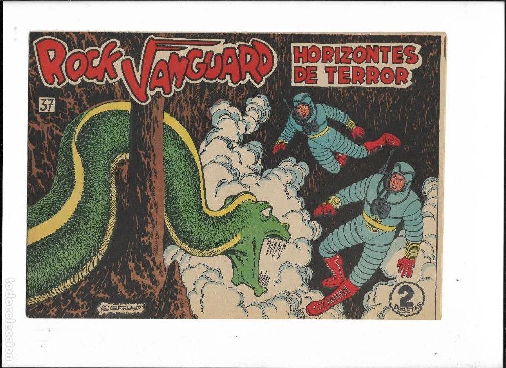 Tebeos: Rock Vanguard Año 1961 Colección Completa son 38. Tebeos Originales es muy dificil de completar - Foto 15 - 220250811