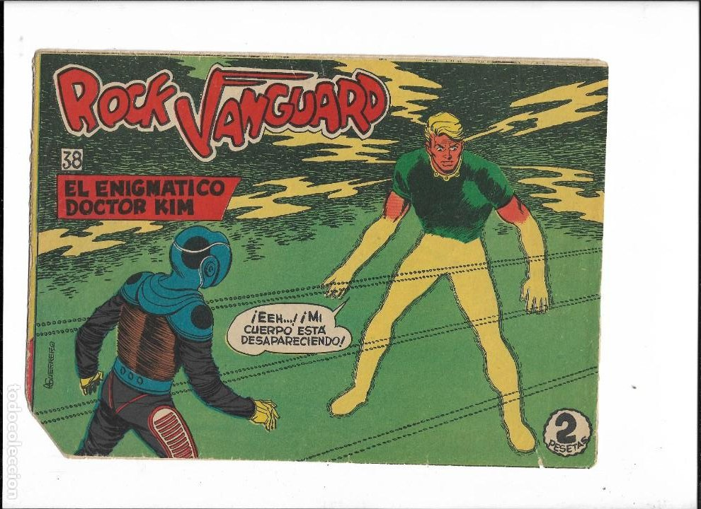 Tebeos: Rock Vanguard Año 1961 Colección Completa son 38. Tebeos Originales es muy dificil de completar - Foto 16 - 220250811