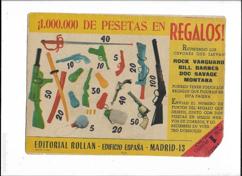Tebeos: Rock Vanguard Año 1961 Colección Completa son 38. Tebeos Originales es muy dificil de completar - Foto 17 - 220250811