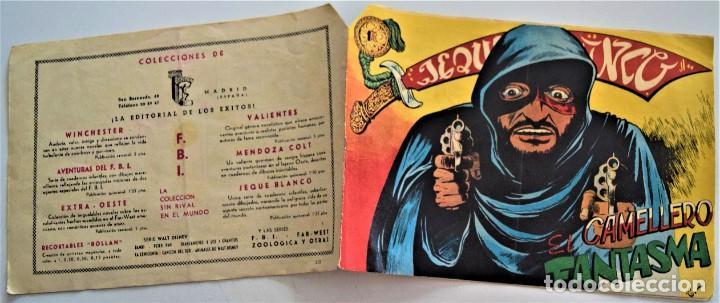 Tebeos: JEQUE BLANCO Nº 118 - EDITORIAL ROLLAN - Foto 2 - 220520573