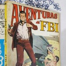 Tebeos: AVENTURAS DEL FBI N.º 6 ORO TRAICION Y SANGRE ED. ROLLAN TACO. Lote 222396056