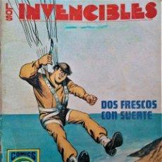 Tebeos: LOS INVENCIBLES - DOS FRESCOS CON SUERTE - Nº 7 - EDITORIAL ROLLAN S.A. 1973. Lote 222428438
