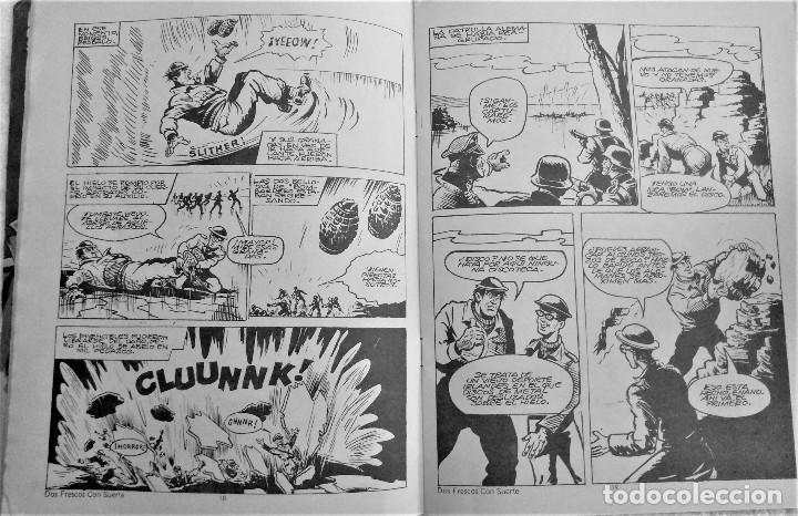 Tebeos: LOS INVENCIBLES - DOS FRESCOS CON SUERTE - Nº 7 - EDITORIAL ROLLAN S.A. 1973 - Foto 2 - 222428438