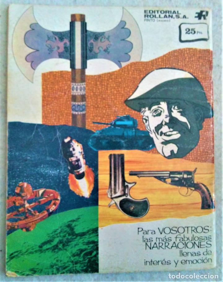 Tebeos: LOS INVENCIBLES - DOS FRESCOS CON SUERTE - Nº 7 - EDITORIAL ROLLAN S.A. 1973 - Foto 3 - 222428438