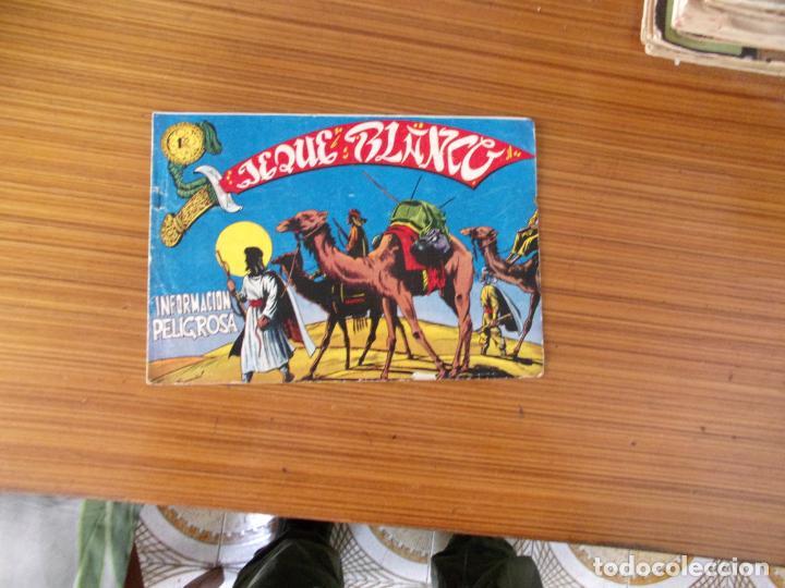 JEQUE BLANCO Nº 96 EDITA ROLLAN (Tebeos y Comics - Rollán - Jeque Blanco)