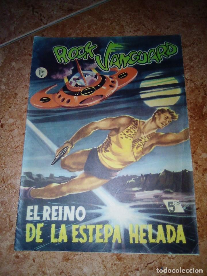 ROCK VANGUARD.NUMERO 7.EL REINO DE LA ESTEPA HELADA.ROLLAN (Tebeos y Comics - Rollán - Rock Vanguard)