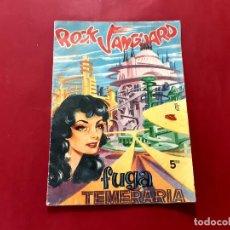 Tebeos: ROCK VANGUARD Nº 5 FUGA TEMERARIA - ED. ROLLÁN AÑO 1958 VER FOTOS. Lote 224690797
