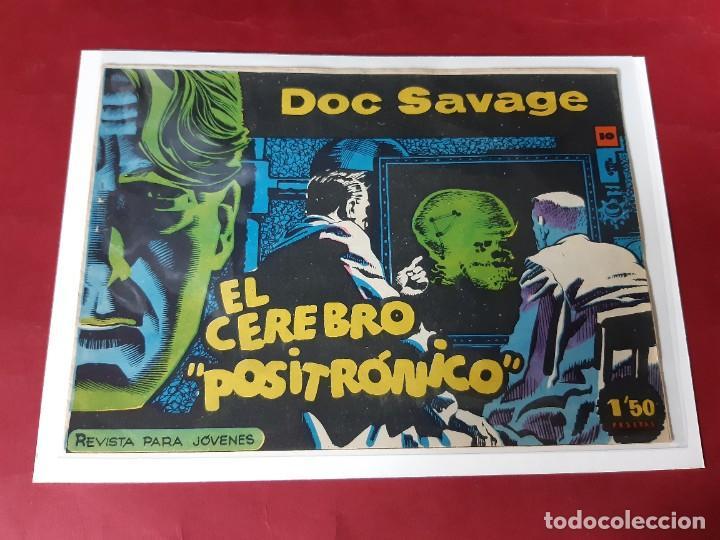 DOC SAVAGE Nº 10 -ORIGINAL-EXCELENTE ESTADO (Tebeos y Comics - Rollán - Otros)