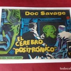 Tebeos: DOC SAVAGE Nº 10 -ORIGINAL-EXCELENTE ESTADO. Lote 227219050
