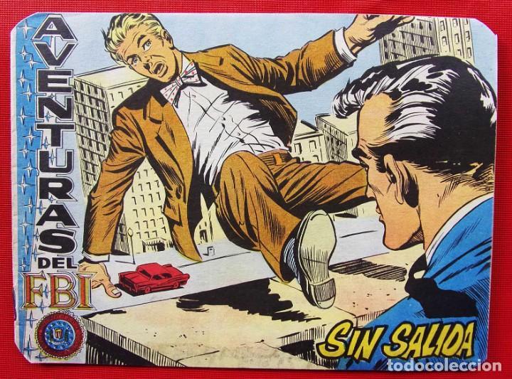 AVENTURAS DEL FBI. ORIGINAL. Nº 221. AÑO: 1959. ED.ROLLAN. (Tebeos y Comics - Rollán - FBI)