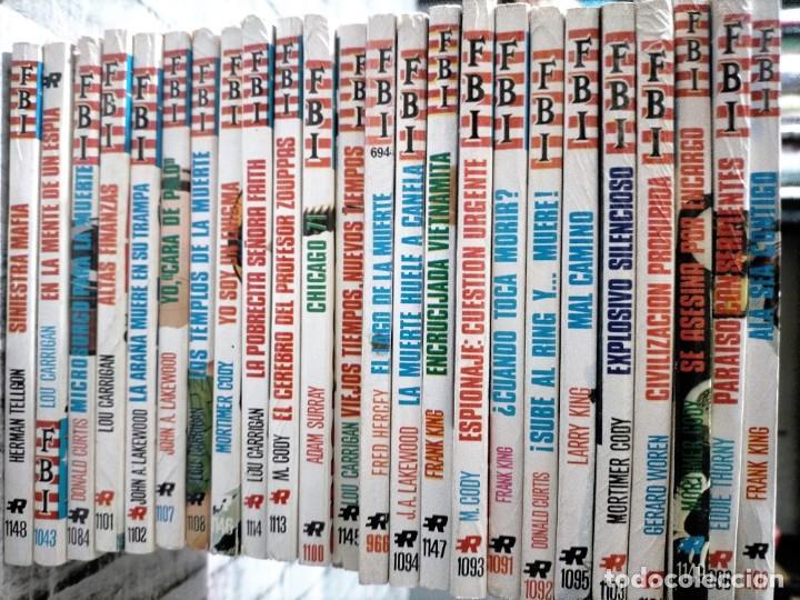 COLECCION FBI ROLLAN 24 TOMOS VER NUMEROS Y TITULOS (Tebeos y Comics - Rollán - FBI)