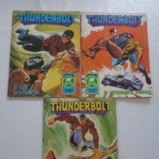 Tebeos: LOTE DE 3 COMICS THUNDERBOLT.Nº15,16 Y 17 --- ROLLÁN 1973. Lote 232807020