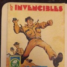 Tebeos: LOS INVENCIBLES Nº 3, SERIE AZUL, EDITORIAL ROLLÁN. Lote 233316995