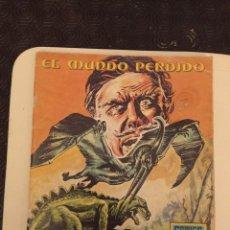 Tebeos: EL MUNDO PERDIDO Nº 13, SERIE AZUL, EDITORIAL ROLLÁN. Lote 233317150