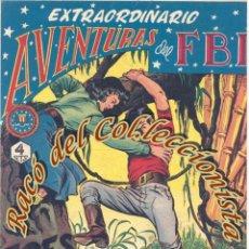 Tebeos: AVENTURAS DEL FBI, EXTRAORDINARIO N. 4 (TRES VALIENTES), EDITORIAL ROLLAN, 1958. Lote 234317360