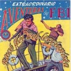 Tebeos: AVENTURAS DEL FBI, EXTRAORDINARIO N. 5 (NEGREROS DEL SIGLO XX), EDITORIAL ROLLAN, 1958. Lote 234317565