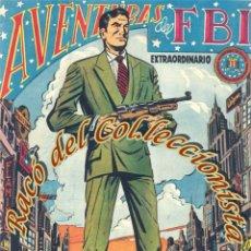 Tebeos: AVENTURAS DEL FBI, EXTRAORDINARIO N. 6 (CONTRA EL IMPERIO DEL CRIMEN), EDITORIAL ROLLAN, 1958. Lote 234317705
