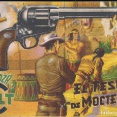 Tebeos: MENDOZA COLT Nº 6: EL TESORO DE MOCTEZUMA. Lote 234704445
