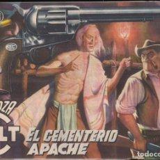Tebeos: MENDOZA COLT Nº 8: EL CEMENTERIO APACHE. Lote 234706355