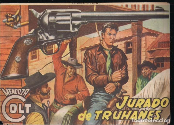 MENDOZA COLT Nº 16: JURADO DE TRUHANES (Tebeos y Comics - Rollán - Mendoza Colt)