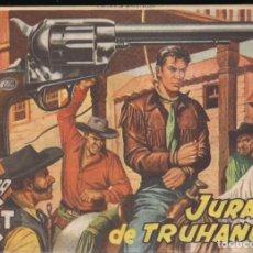 Tebeos: MENDOZA COLT Nº 16: JURADO DE TRUHANES. Lote 235141465