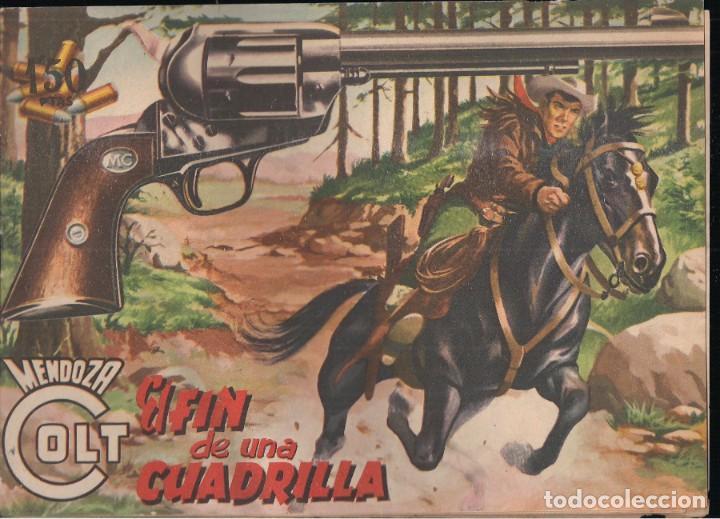 MENDOZA COLT Nº 17: EL FIN DE UNA CUADRILLA (Tebeos y Comics - Rollán - Mendoza Colt)