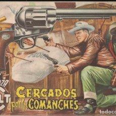 Tebeos: MENDOZA COLT Nº 20: CERCADOS POR LOS COMANCHES. Lote 235142975