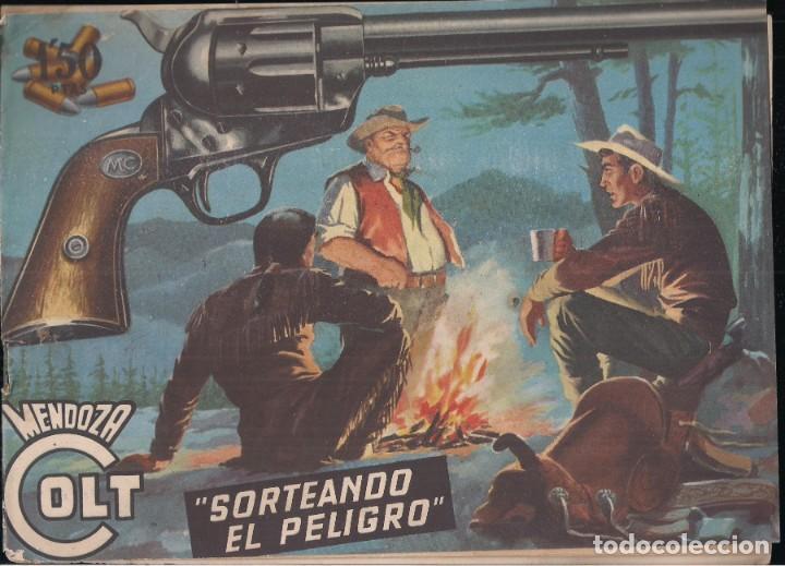 MENDOZA COLT Nº 21: SORTEANDO EL PELIGRO (Tebeos y Comics - Rollán - Mendoza Colt)