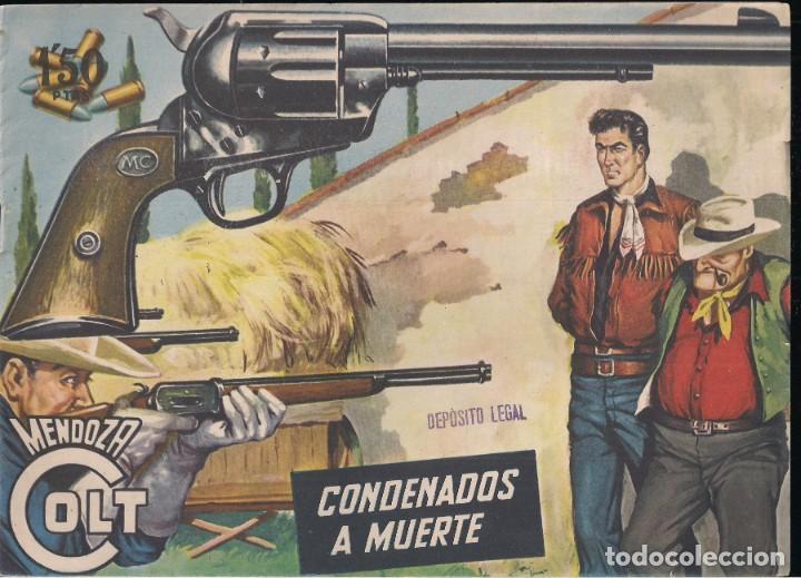 MENDOZA COLT Nº 22: CONDENADOS A MUERTE (Tebeos y Comics - Rollán - Mendoza Colt)