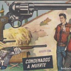 Tebeos: MENDOZA COLT Nº 22: CONDENADOS A MUERTE. Lote 235143595