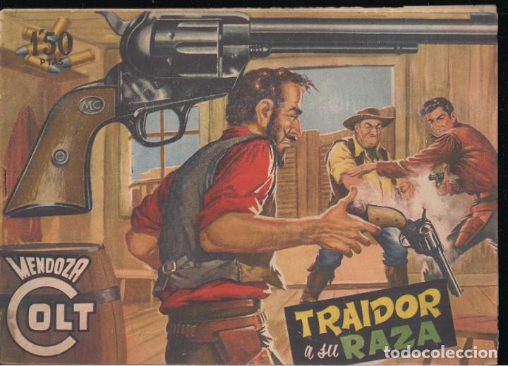 MENDOZA COLT Nº 25: TRAIDOR A SU RAZA (Tebeos y Comics - Rollán - Mendoza Colt)