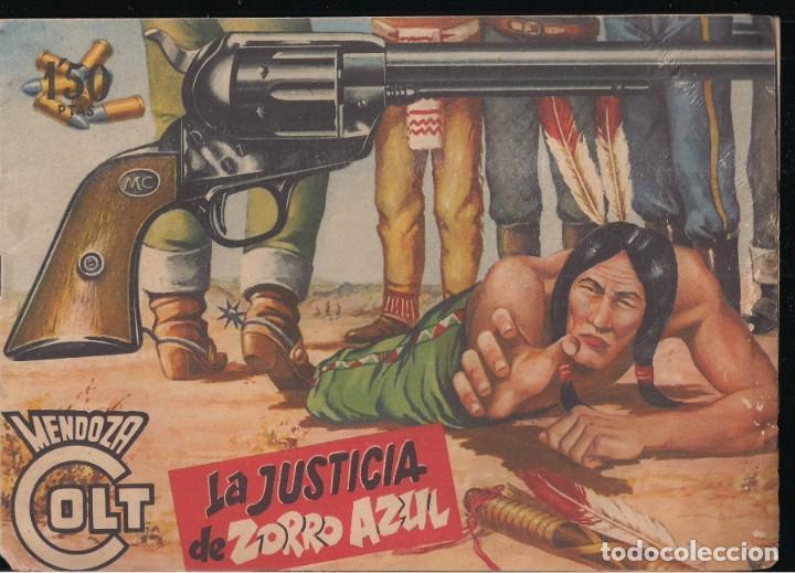 MENDOZA COLT Nº 26: LA JUSTICIA DE ZORRO AZUL (Tebeos y Comics - Rollán - Mendoza Colt)