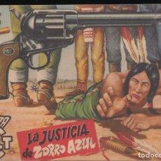 Tebeos: MENDOZA COLT Nº 26: LA JUSTICIA DE ZORRO AZUL. Lote 235144305