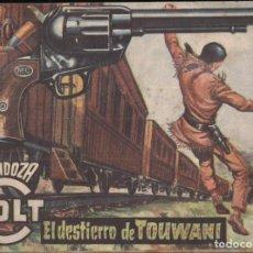 Tebeos: MENDOZA COLT Nº 69: EL DESTIERRO DE TOUWANI. Lote 235305350